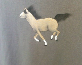 Hand painted tee shirt