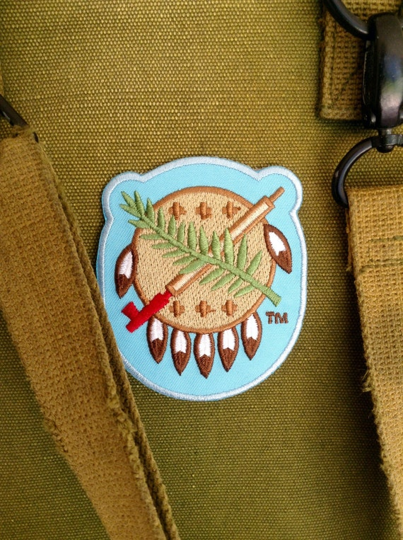 Oklahoma osage shield patch official embroidered
