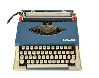 Royal Sprite Typewriter - Rejuvenated - Working Order - FREE Domestic Shipping