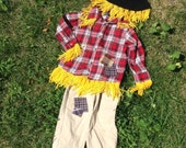 Scarecrow Costume size 3T
