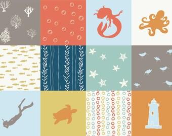 ORGANIC Beyond the Sea PATCH - Jay-Cyn Designs for Birch Fabrics