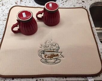 Coffee drying mat