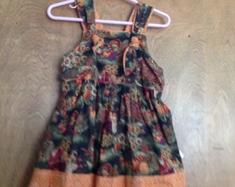 Girls Boutique Dress SAMPLE SALE Thanksgiving size 2