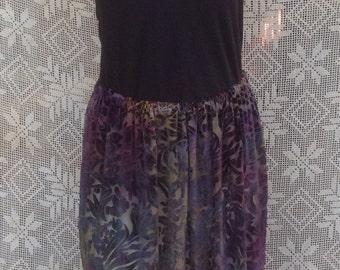 Tourmaline Velvet Skirt