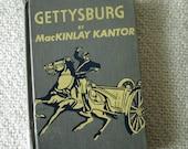 1952 Gettysburg by MacKinlay Kantor, Vintage Book