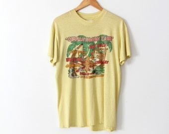 vintage 80s graphic t-shirt, large Hawaii tee