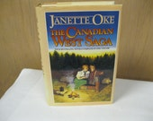Christian Fiction Janette Oke Bestseller Canadian West Saga Four in One Volume Story of Frontier Families Life, Romance and Challenges