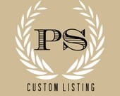 Custom Listing: Maggie