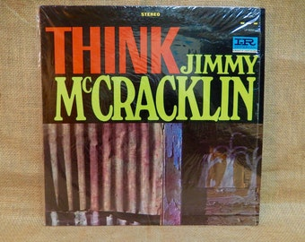 JIMMY McCRACKLIN - Think - 1965 Vintage Vinyl Record Album