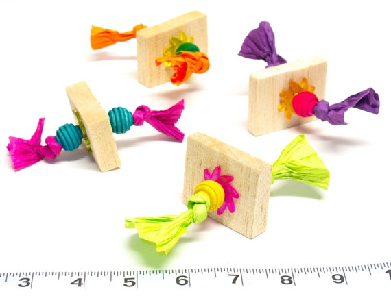 ... Pack - Foot Toys - Parrot Toys and Bird Toy Parts by A Bird Toy