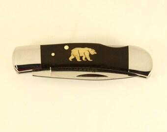 Magnum Jewel with Custom Bear Inlay