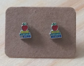 Back to school book studs