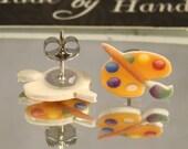 Art Palette Stud earrings - Artist