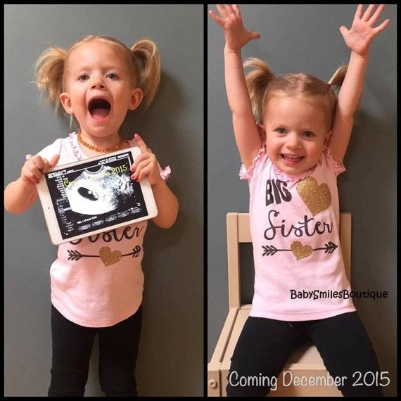 Big Sister Shirt Little Sister Shirt Sibling Shirts