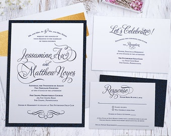 Printable Wedding Invitation Suite - The Jessamine Collection