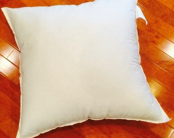 Eco Friendly Throw Pillow Inserts: 14x14, 16x16, 18x18, 20x20, 24x24, Select Sizes & Designer Quality