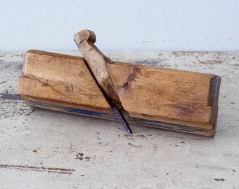 Antique Birch Wood Plane