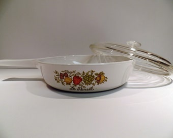 Corning Ware Spice O' Life Skillet with Lid - Vintage Corning Ware - Spice O' Life - Corning Ware Skillet - Skillet - Fry Pan - Corning Ware