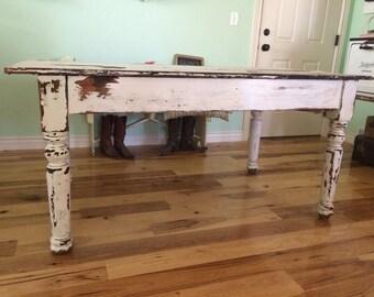 Vintage kitchen table   Etsy