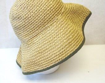 Wide Floppy Brim Hat Millinery Sun Bucket Cap