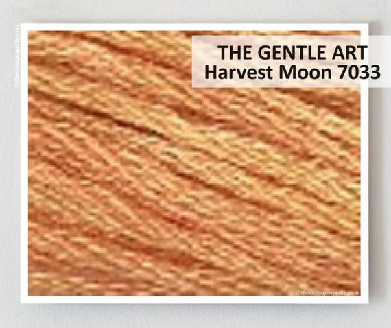 Gentle art harvest basket : Harvest moon gentle art gast hand dyed embroidery floss