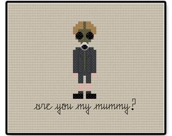 Doctor Who - Are You My Mummy? - Cross Stitch PDF Pattern