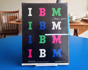 IBM Carbon Paper NIP Design By Paul Rand