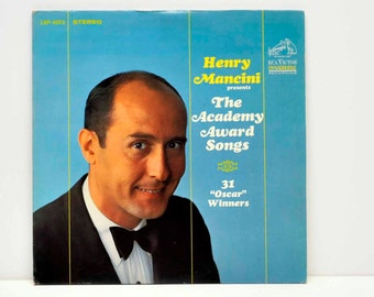 Henry Mancini Presents The Academy Award Songs -- Two Record Set -- Record Album --