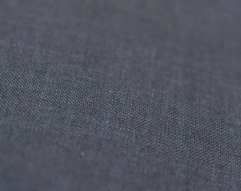 Dark grey linen fabric Pure linen fabric Softened and pre-shrunk charcoal linen flax fabric by half yard