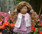 RESERVED Waldorf Doll - Eloise - Waldorf inspired doll -  LAST payment