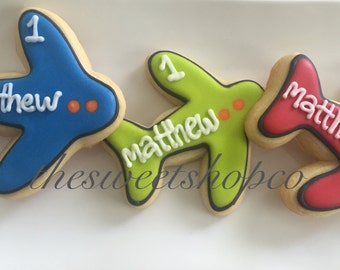 Airplane Cookies 2 dozen