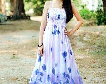 Dress Maxi Dress Women Prom Long Change Tone Blue Bridesmaid Dress 1X 2X 3X 4X