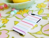 Painted Stripes Phone Case