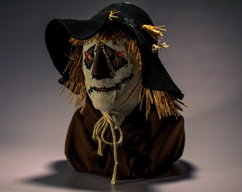 Scarecrow of Romney Marsh Mask and Hat Set