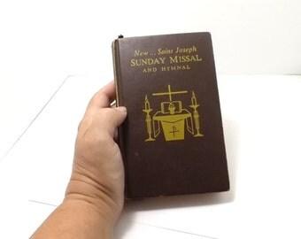1966 New Saint Joseph Sunday Missal and Hymnal, religion, catholic