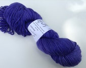 "Clearance - Semisolid trim yarn, ""Regal"", DK Merino Silk"