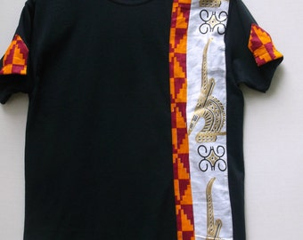 African Print  T shirt, African Print, Tribal Print shirt, African Print  Shirt, Men's T shirt