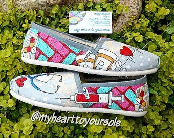 Price includes shoes. Nurse TOMS