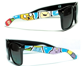 Sunglasses - Adventure Time - Handpainted Custom Wayfarers