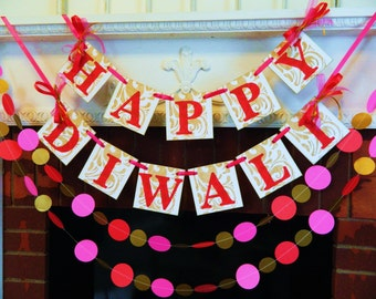 Diwali Decorations , Happy Diwali Banner, Festival of lights, Divali Nagar- Hindu Festival- Laxmi Puja-  Diwali celebration