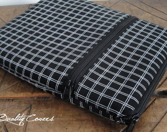 Customizable Laptop Sleeve for Color fabrics and Size - Laptop case - Laptop cover - PADDED foam 8mm - WATERPROOF lining - extra POCKET