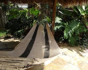 Hammocks! Adult sized cotton hand woven hammock from Guatemala.  Mayan made banana hammocks 18