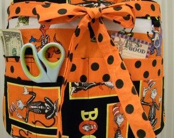 Teacher Crafter Vendor Utility Apron-Boo Dr. Seuss