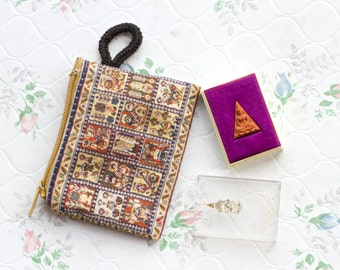 Pocket Buddha Figure - Miniature Icon in Case and Pouch