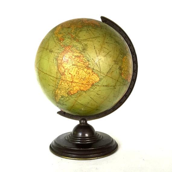 """Antique  / vintage World globe """"Replogle"""" / Reserved"""