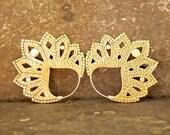 Satya Brass Earrings