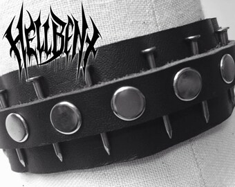 Hellbent Witching Hour Leather Choker