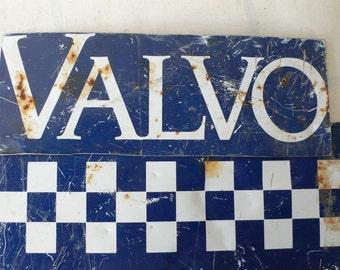 "vintage signage, ""VALVO"", rustic, country decor, diner, garden decor, from Diz Has Neat Stuff"
