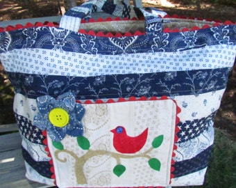 Quilted Oversize Bag