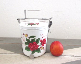 Vintage Lunch Pail Melamine, Lunch Box